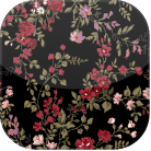 Bloom Flower -black-